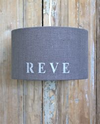 Suspension lin gris anthracite mot reve-déco scandinave