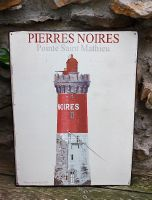 Plaque murale phare en tôle  -Deco mer-sphere inter