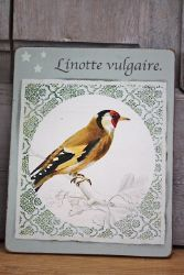 Tableau oiseau 15-decoration de charme-decoration brocante