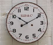 Horloge murale iles & co - decoration mer-sphere inter