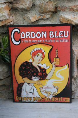 Plaque deco cuisine plaque mtallique vintage atmosphra coffee x with plaque deco cuisine - Plaque en aluminium pour cuisine ...