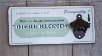 Decapsuleur mural biere blonde-Decoration campagne-deco cuisine