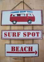 Plaque surf spot rouge -Esprit mer-sphere inter
