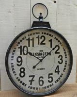 Horloge metal kensington- decoration d'atelier-antic line