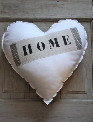 coussin coeur home